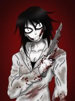 Jeff the Killer (without text) by darkangel6021