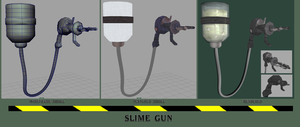 Slime Gun by BlueSerenity