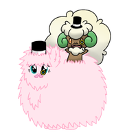 Fluffle Puff And Whimsicott Go British Day 67 by DrLonePony