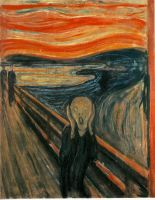 The Scream by Edvard Munch by Tonya-Lucas
