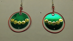 More ornament earrings by Bishiglomper
