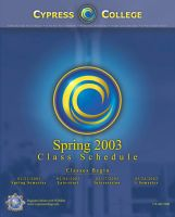 CC Spring 03 Schedule Cover by TheRyanFord