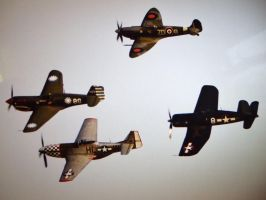 BREITLING FIGHTERS FORMATION by Sceptre63