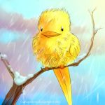 Winter Hibird by Carcaneloce