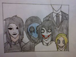 Creepy family photo by DarkZekrom5