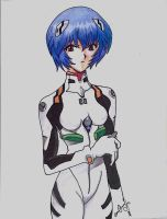 Ayanami Rei (2) by AriaOmicronCx
