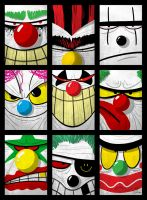 CLOWNS by ferwar