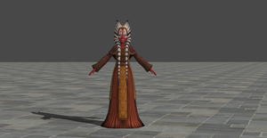 Shaak Ti rigged by TheRaiderInside