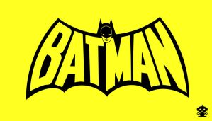 1970 Batman Comic Title Logo by HappyBirthdayRoboto