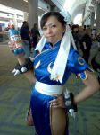 Chun Li cosplay and NOS by LexLexy