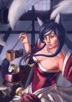 Tea Time with Ahri by MarcCasper