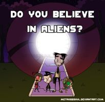 Do You Believe In Aliens? by Metros2soul