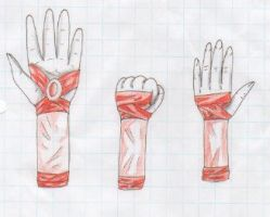 Hand Gaunlet Practice by Snowstorm102