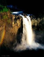 Snoqualmie Falls by rayt