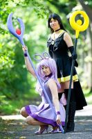 PKMN Senshi - Sailor Espeon, Sailor Umbreon :: 01 by kailuakona