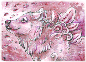 ACEO_Kinpouju by Kyuubreon