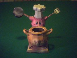 Cooking Kirby Papercraft by ganon-destroyer