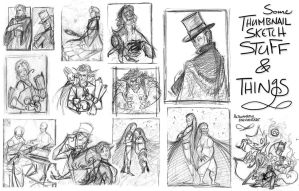 Thumbnails 'n Thoughts by Altalamatox