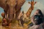 African Animals by AaronMiller