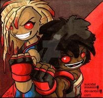The Twinz by suicidalassassin