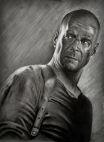 bruce willis by ercansebat