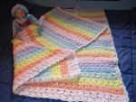 Rainbow Baby Blanket by DulachNightflame