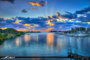 Jupiter-Inlet-Lighthouse-Over-Waterway-at-the-Jett by CaptainKimo