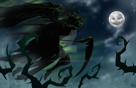Under the Mad moon by crocella