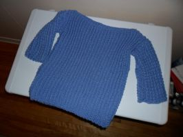 First Wool Sweater by kayanah