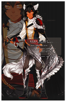 [ADOPT AUCTION - AB ADDED] The White Wolf. ABED by mintbuns