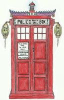 doctor who - chinese tardis by machinegunbam1