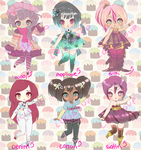 FABULOUS FABRIC ADOPTABLES OPEN by Lolisoup