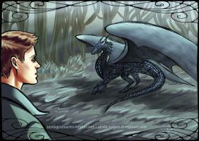 DeanCas BB - Dragon!Castiel 2 by zerda-vulpes