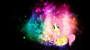 Fluttershy Wallpaper ^^. ((Resized)) by CrystaHedgefox444