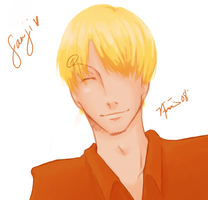 Sanji for 32 by nyb
