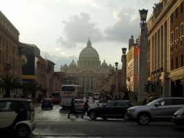 St. Peter's Basilica by Niviella