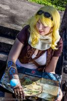 Who needs a map - Female Ezreal by HoodedWoman