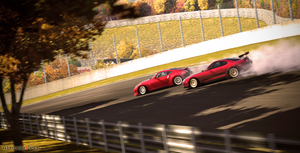 GT5 Autumn Ring Drifting by Adamowsky-Design