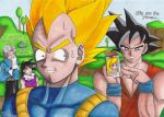 Vegeta...we're on to you... by Guardian-of-Heroes