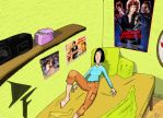 Zira Ondalli's Room colored by FG-Arcadia