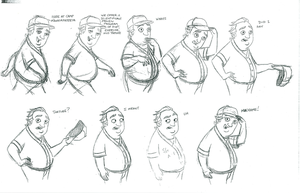 character layout/The Critic by AmberHollinger