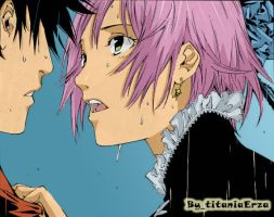 Simca and Ikki AIR GEAR by titaniaerza