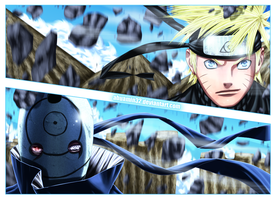 Naruto_vs_Tobi by abuamin32