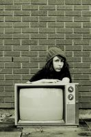 bored on a tv by SourDuck