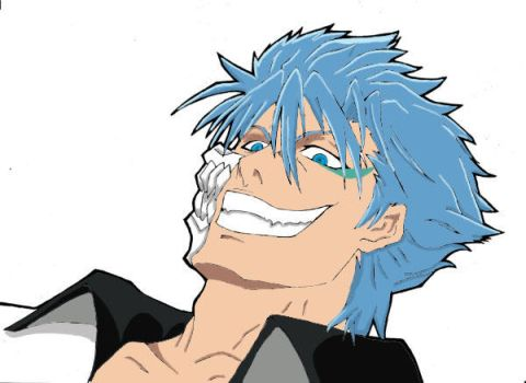 .::Grimmjow for scott::. by emo-girlfriend