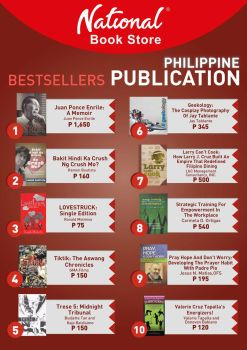 Top 5 Best Selling Book by Budjette