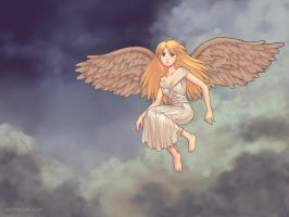 Angel by paintpixel