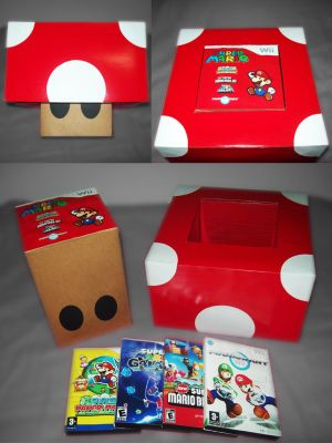 Toad videogame packaging by m-schneider