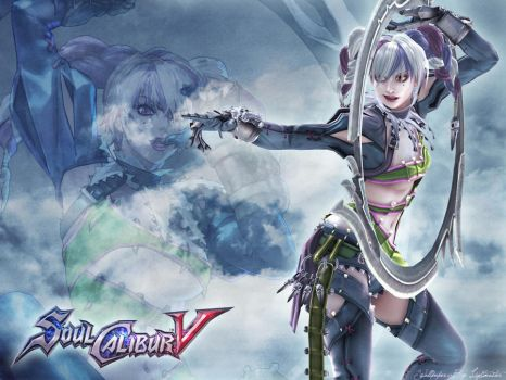 Wallpaper Soul Calibur V Tira by shirotsuki-hack