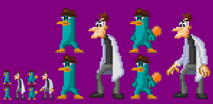 Curse you Perry the Platypus by akumath